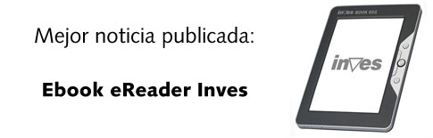 Mejor noticia publicada: Ebook eReader Inves