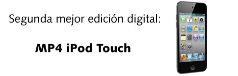 Segunda mejor edici�n digital: iPod Touch