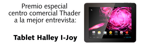 Mejor entrevista: Tablet Halley I-Joy
